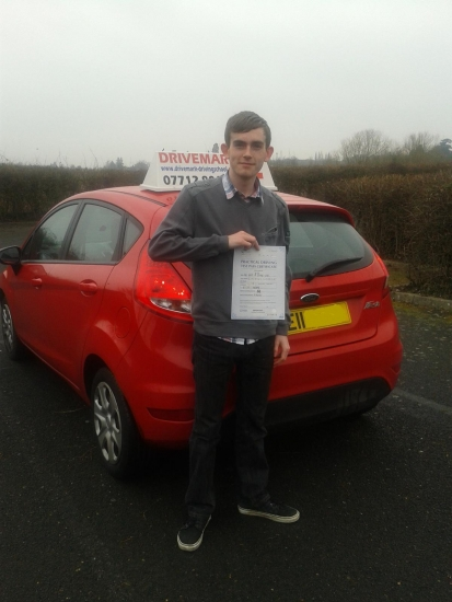 Well done Aston on passing your driving test first time today Hope to see you around in your Peugeot and dont forget Drive Safe