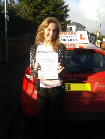 Well done Beth Passed your driving test today with only 3 minor faults Great result Look forward seeing you soon when you do a Pass Plus course Drive Safe<br />