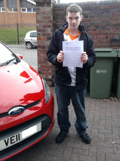 Well done Mike First time pass with only 2 minor faults told you youd get there in the end and you did Drive Safe Mate
