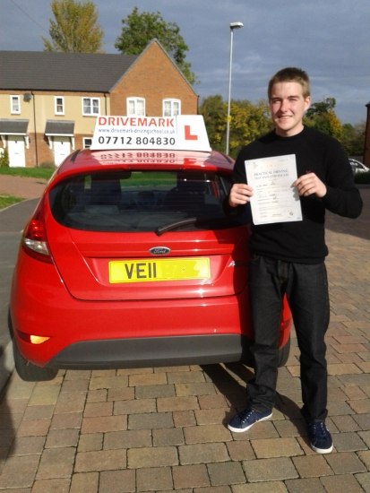 Well done Rob passed your driving test today Only 3 minor faults and with the strictest examiner in Worcester Good luck with the pilot training for the RAF Drive Safe<br />