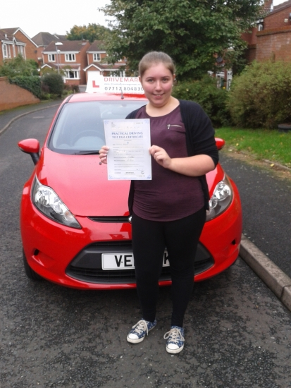 Congratulations Steph Passed your driving test first time today Told you that you would get there in the end Well done and drive safe