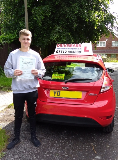 Well done Ted. Passed your test today with only 3 minor faults. You worked hard and got there in the end. Drive Safe!