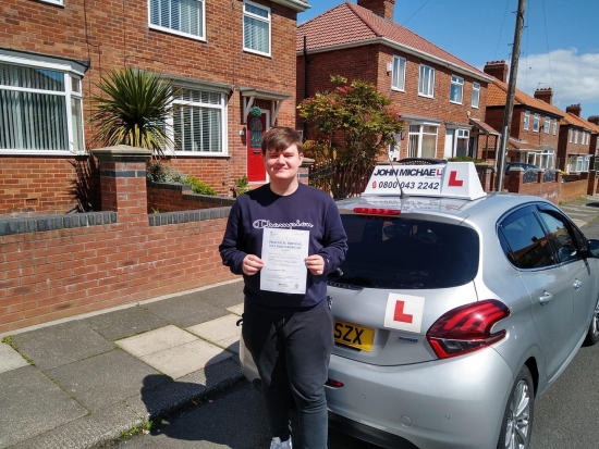 *NEW DRIVER*NEW DRIVER* Fantastic drive from Harry Holborn today!  just passed his test, at Sunderland, with our instructor Graham Spensley, lots of hard work, always pays off.<br /> Time to find that new car 🚗, remember to wave.<br /> Good luck,Stay Safe