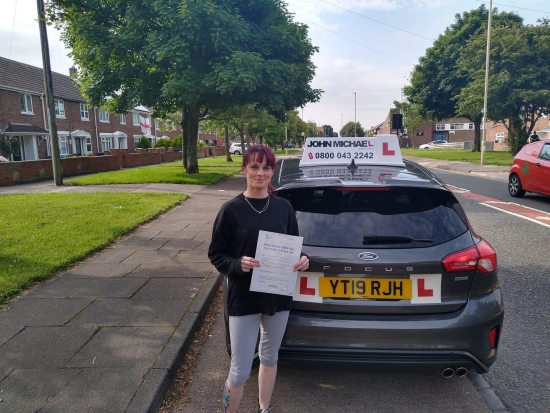 # NEW DRIVER ALERT #<br /> Massive well done to Samantha Houlsby, passed 1st time today with her instructor Graham Spensley, beating the nerves and coming back with just a single fault.<br /> Keep up the good work, enjoy your new freedom.