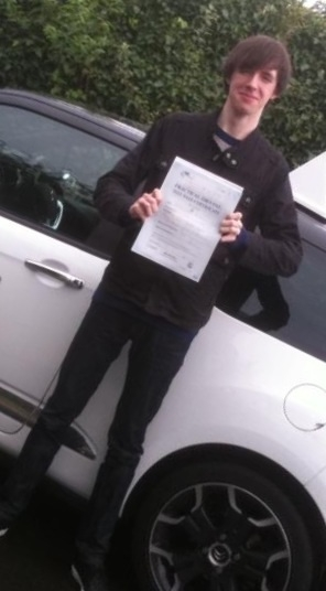 Well done dan Proud as punch Passed 1st Attempt with a 8 week semi intensive driving course