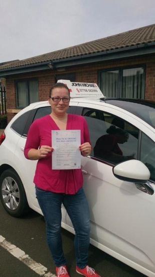 Amazing driving from Diana Passed 1st time today she was so happy 582014