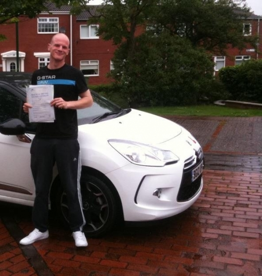 Well done Marc Passed with us