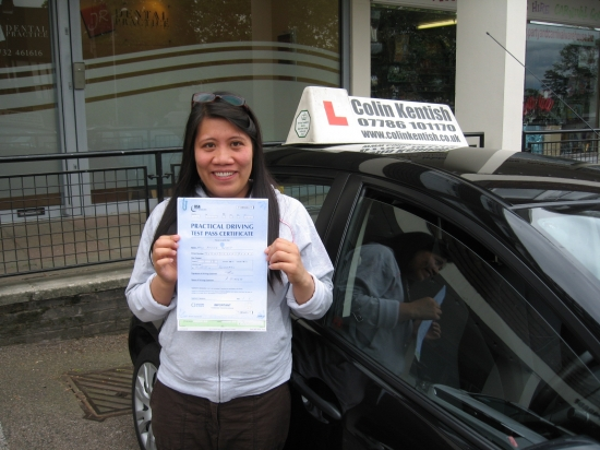 11 May 2011 - Abby passed first time with just 5 minor driving faults That was a really good result Abby well done