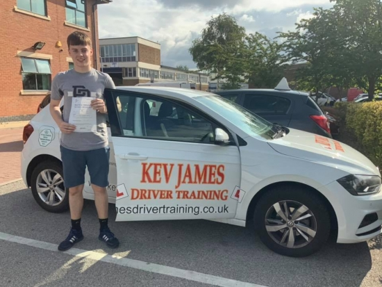 Well Done Ben. 12th July 2019 at Chilwell Test Centre