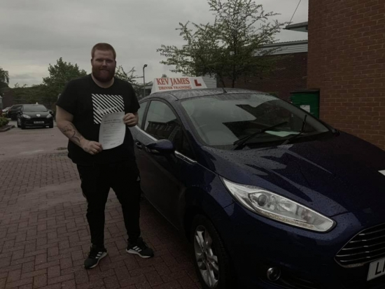 Congratulations Josh. 17th May 2019 at Chilwell Test Centre
