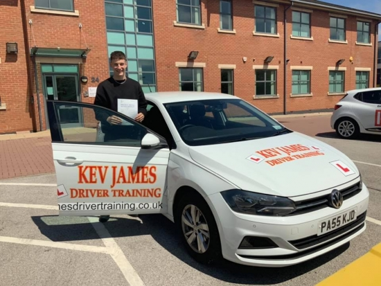 Great Pass Luke 27th June 2019 at Chilwell Test Centre
