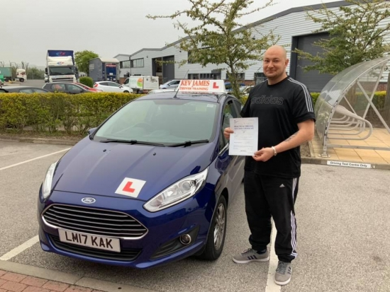 Nice driving Michael 19th April 2019 at Chilwell Test Centre