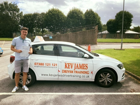 Congratulations Neil. 9th August 2019 at Watnall Test Centre