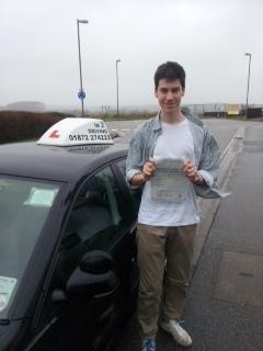 Congratulations safe motoring