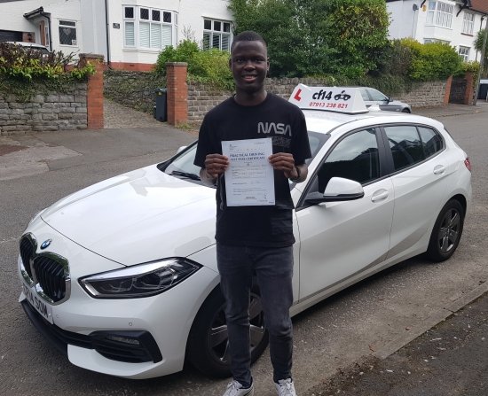 *** FINALLY, Many Congratulations To Fawaz, Passing In Cardiff Today With Just 3 Driving Faults. <br /> <br /> With Lockdown, Uni And Lots Of Other Delays - TODAY is Your Day Fawaz, Enjoy Telling Everybody That You Have A FULL Driving Licence, Drive Safely - Good Luck When You Return To Uni Next Month & I Hope You Enjoyed Your Lessons With Me.<br /> <br /> Let Me Know When You Get Yourself A Car. 😎 ***