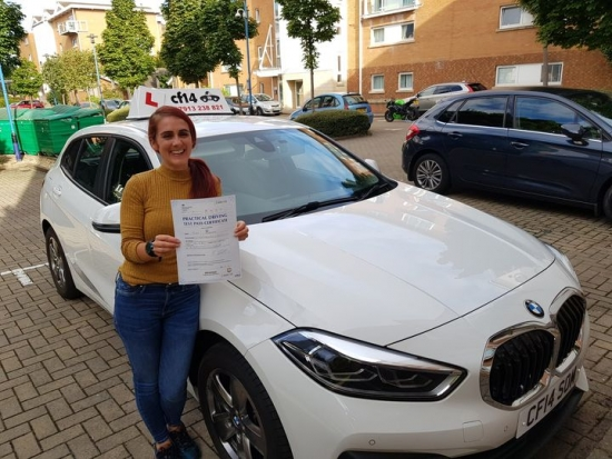 Many Congratulations To Sian From All of Us Here At cf14 School Of Motoring, PASSING Today In Cardiff!<br /> After All The Bay Parking Practice With Your Mum, After All The Dedication And Long Hours (And Years) Spent Learning To Drive - FINALLY, FINALLY - You Can Say You Have A Full Driving Licence, Completing One Of Your Life Ambitions. 😇<br /> Well Done, Drive Safely - Enjoy The New Freedom That This W