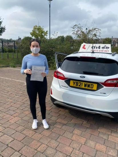 Congratulations to Daisy on passing her practical driving test in Barry today with only 4 df - enjoy being your dads taxi for a change 😂😂😂xx