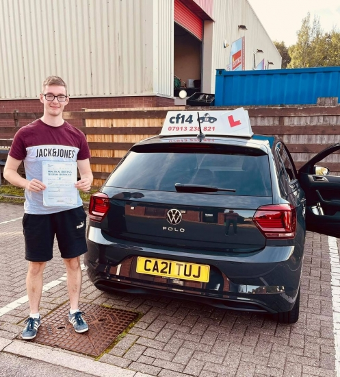 Monday morning can't start any better than this , and my huuuge congratulations goes to Aaron Williams who finally get things done in Cardiff tc and only 2 little minors popped up, we've waited quite a bit due to all the wait and disruptions we've had in last few months . Superb effort from this very nice young man who thoroughly deserves his passing certificate today, and I'm sure there i