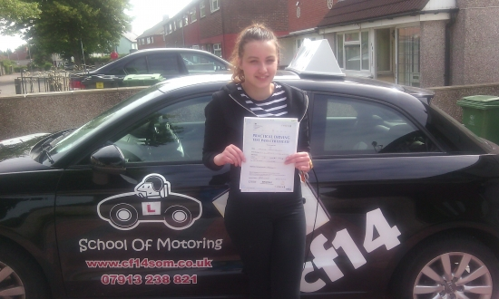 Well Done Agata Your parents leave you to go on holiday so you can study for your exams but not only will you nail those exams but you also PASSED your driving test with just 2 minors today They will be in for a surprise when they get back<br /> <br /> <br /> <br /> MANY CONGRATULATIONS
