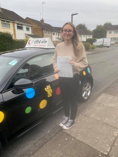 Congratulations Charlie on passing your practical driving test in Barry today - now to tackle culver roundabout to get to work haha Rebekah xx