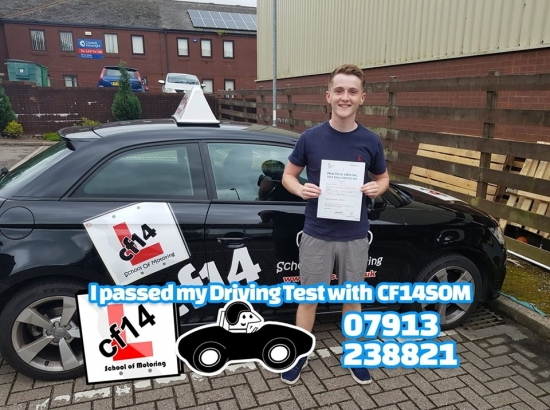 Many Congratulations Dewi, Passing First Time In Cardiff Today, With Just The 1 Minor. Fantastic Result, Hope All Goes Just As Well With Your Exam Results!<br /> <br /> Good Luck With Uni In Bath, Best Wishes For The Future.
