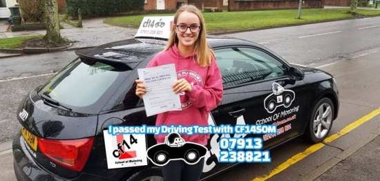 *** Many Congratulations Elin, Passing In Cardiff Today, With A Great Drive. Even With Me Sat In The Back, Didn´t Put You Off, Superb, Well Done 😎 ***