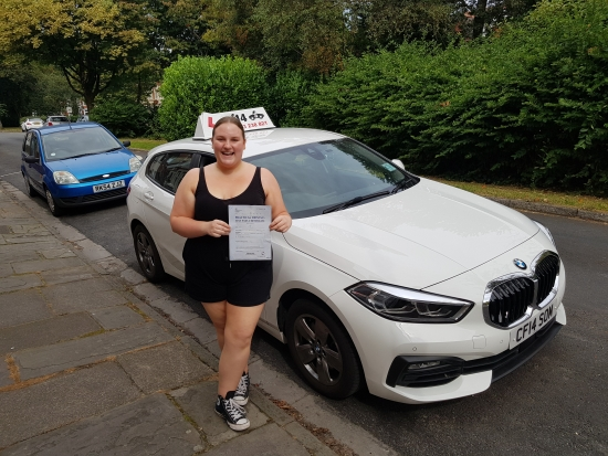 ***What A Day. Grace Joins The Club - Passing First Time In Cardiff Today! Enjoy Your Car, No More Asking For Lifts, Time To Drive To Work. Drive Safely - But Not ´TOO´ Slowly, See You On Pass Plus. Take Care x 😎 ***