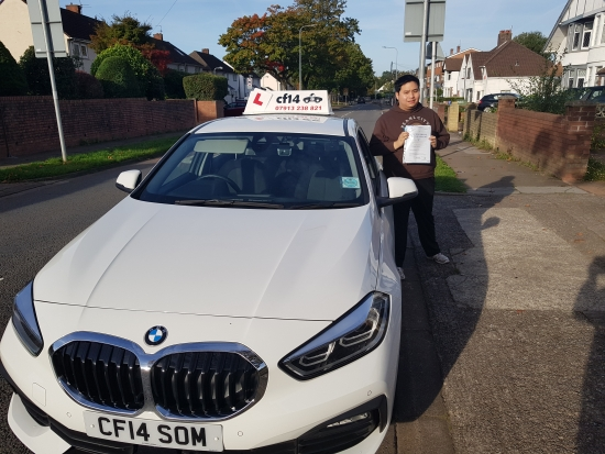 Amazzzzzing! Finally Joe Has Passed His Practical Driving Test In Cardiff Today, Despite - Well Joe Knows What Despite, But Lets Just Say It´s Not Been An Easy To Get Here.🙃<br /> Thoroughly Deserved - Keep Calm And Patient When You Are Out And About By Yourself, I Look Forward To Seeing You In Your New Car In The Near Future. - <br /> <br /> Finally You Have Got Rid Of Me Joe!<br /> <br /> Best Wishes Barry 🚗