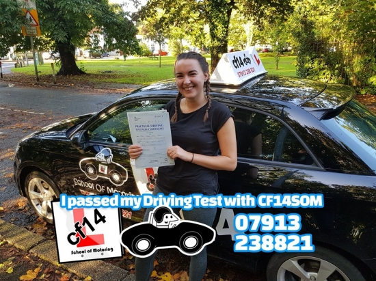 *** Many Congratulations To Lydia, Passing On Your First Attempt, & A First For Me - Whilst On Your Test, I Received A Call From A Total Stranger Who Was In Traffic Next To You, Phone Me Thinking I Was In The Passenger Seat, Asking For Your Number! Just Glad They Didn´t Put You Off, Phew. WELL DONE Enjoy Your New Licence 😎 ***