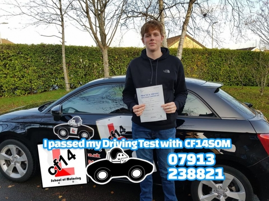*** Many Congratulations Matt, Passing 1st Time In Cardiff Today, Great Result, Just The Small Matter Of School & Uni To Master Now. Well Done *** 😎