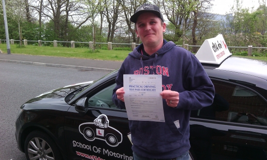 Barry is an excellent instructor and I would recommend him to anybody looking to learn to drive Thank you for everything<br />