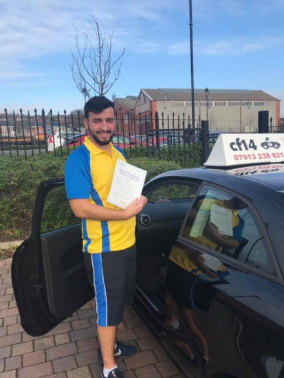 Congratulations Sion on your practical driving test pass in Barry today - stay safe and hope you get to leave the country again soon Rebekah 😂😂😂