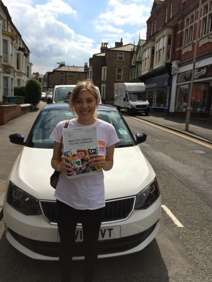 JO YOU DID AWESOME ON A ZERO FAULTS PASS NICE WORK