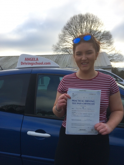 Can't thank Paul from Angela's school of motoring. After failing 3 tests with another Instructor I started afresh with Paul. Immediately I felt more confident. He picked up on problems I was having and with his calmness and reassurance I was able to build up the courage to go for another test. And yes I have passed with ease- only 2 minor faults <br />