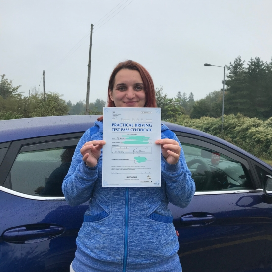 Angela made learning to drive fun and easy. Angela had plenty of patience and was able to get me through the test first time