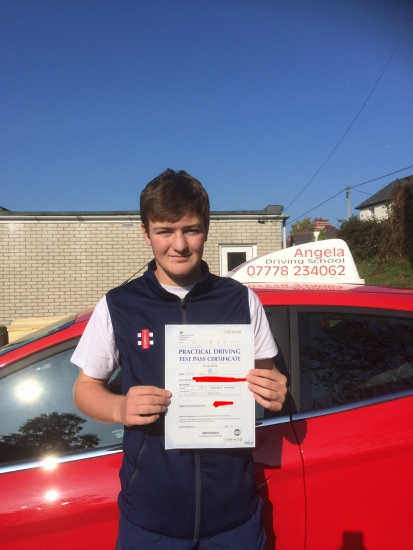 Angela is a great instructor. Patient, knowledgeable and accommodating. My son passed first time within just 5 months. Angela made him feel comfortable and at ease from the very beginning. I'd highly recommend Angela as your driving instructor. She's the best by miles!