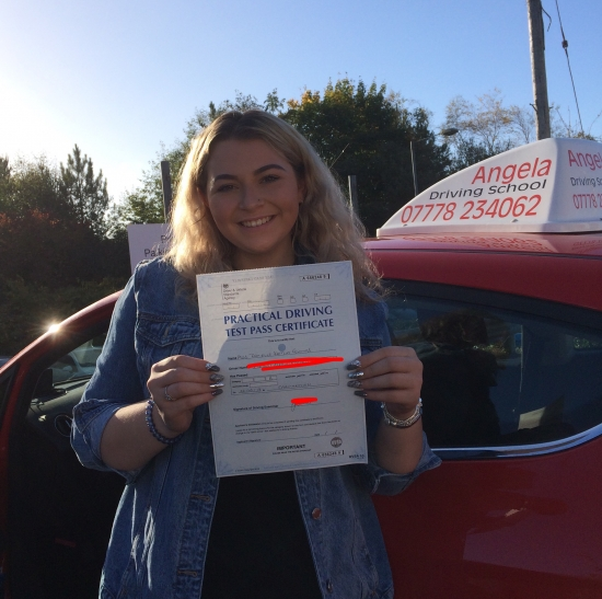 Highly recommend!! Helped me pass within 2 months, very calm and patient. Amazing instructor!