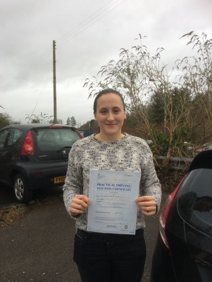 Big thanks to Angela for helping me to pass my driving test and Pass Plus course Very encouraging and patient throughout the driving lessons Provides a excellent service and also helped me to keep calm on test day Would highly recommend Angela for a driving instructor You wonacute;t be disappointed
