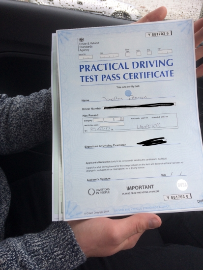Angela is best driving instructor around I passed first time and couldnacute;t be happier Makes you feel safe and comfortable Will be sending all friends and family your way Thank you again Angela