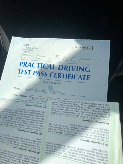 Congratulations to Billie Jo for passing her practical test in Sale on 4/9/19 8 months pregnant.