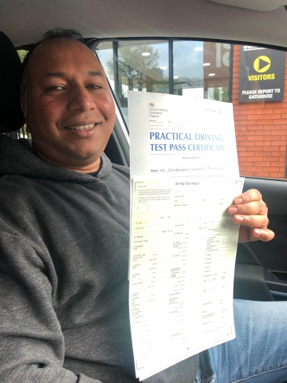Well done to Christopher for passing his practical test on 8/10/19 at Sale.