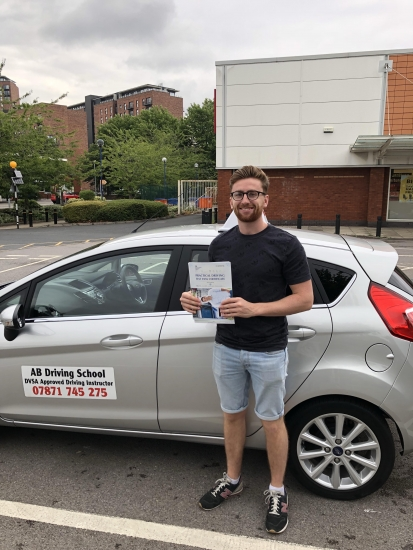 Congratulations to Elliott for passing his practical test in Sale on 17/7/18.  Well done!