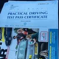 Well done Katie Lyons for passing your practical test at Salford.