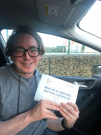 Well done to Kris for passing his practical test in Sale on 13/11/19.  Really pleased for you.
