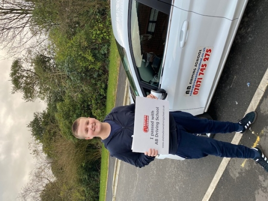 Congratulation to Kyle for passing his practical test on 6/1/20 at Cheetham Hill with just one fault.  Great start to the year.