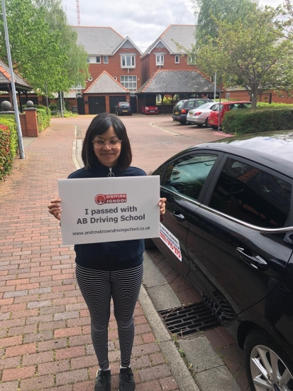 Well done to Niva for passing first time at Sale with 0 faults on the 25/4/19.