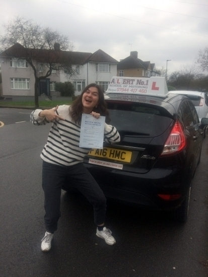 Sharon is the best as a driving instructor I had 2 previous instructors before her and had completely lost my confidence but she put me completely at ease She never loses her patience or gets annoyed no matter how many times you get something wrong I never felt any pressure from her part contrarily to my previous instructors As a result from her excellent teaching skills I passed my driving