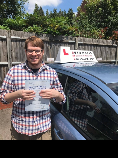 Best driving instructor Passed with AMC. Maz was an excellent teacher, he was incredibly patient throughout the entire learning experience. As someone who was very nervous about learning to drive, Maz was fantasticand eased all of my worries. An excellent teacher, I recommend him to anyone.