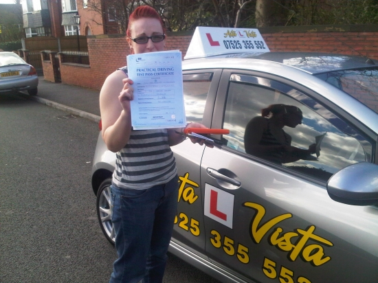 I started my first driving lesson with Jason on my 17th birthday and was very scared and nervous but after my second lesson with him i was at ease I felt relaxed and comfortable with Jason He helped me so much to get me through my theory first time and built up my confidence because he had complete faith and support in me I was nervous on test day but he supported me and got me through my test
