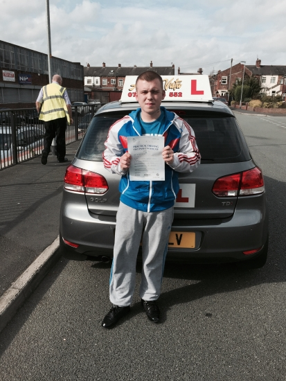 Well done Ben for passing with Jason at AstaLvista